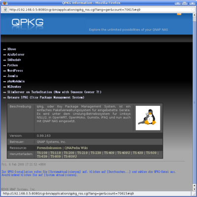 Erste Grundeinstellung beim Qnap Nas – Gemini-Wiki